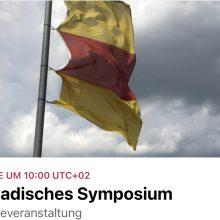 Zu Gast beim 5. badisches Symposium am 3. April 2021