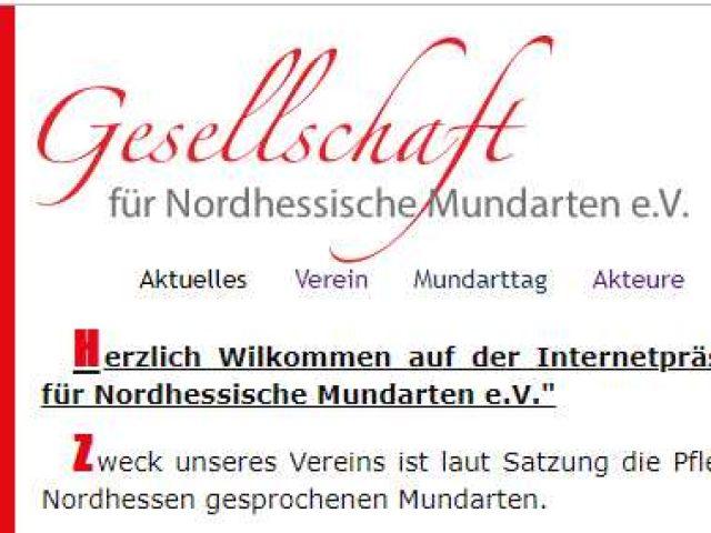 Gesellschaft für nordhessische Mundarten e. V.